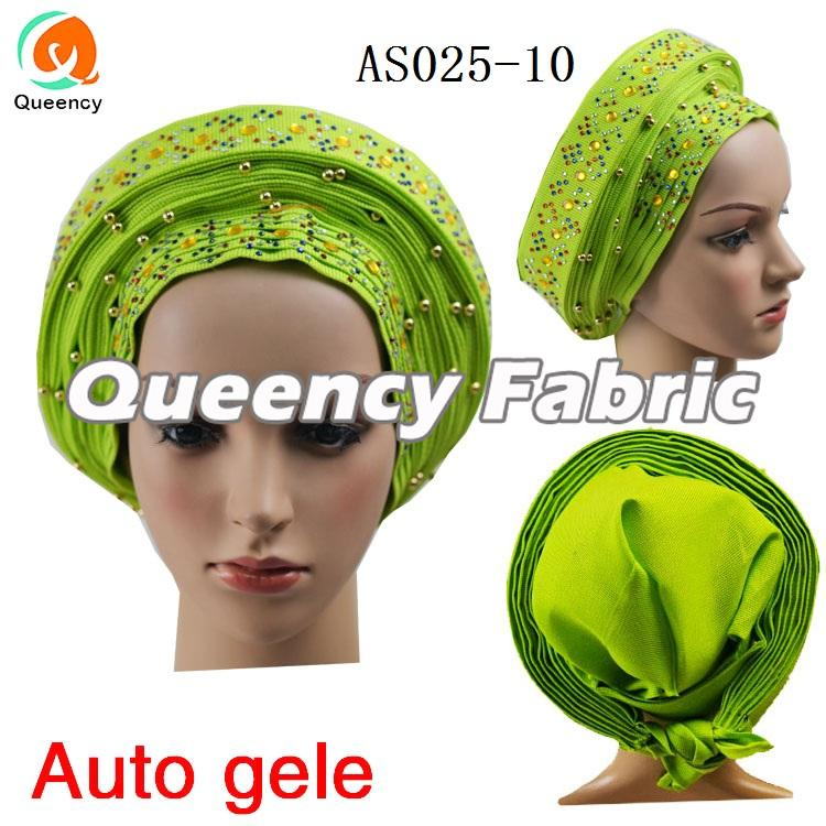 Lemon Beads Already Auto Gele