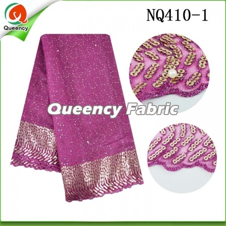 Sequin Lace Fabric Net