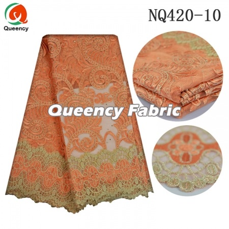 French Lace Embroidery Fabric