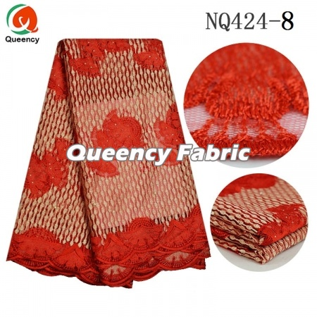 Net Fabric Embroidery Lace