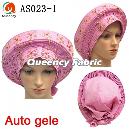 African Ladies Auto Gele Already Headtie