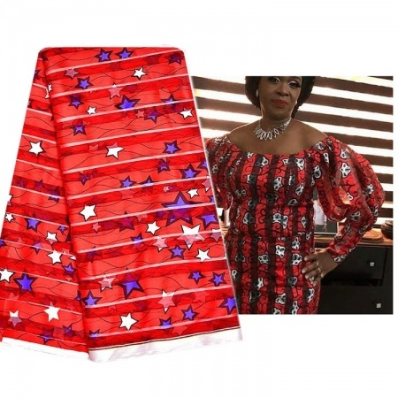 nigeria beautiful ribbon organza ankara fabric